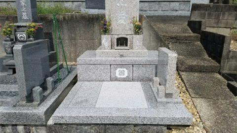 万成石・岡山県産のお墓